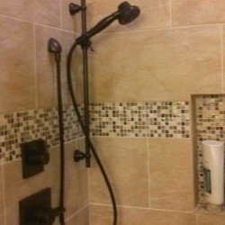 Roll In Shower Bath Remodel