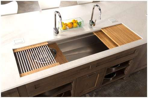 Kitchen remodeling ideas the galley sink for Galley kitchen sink