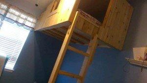 Ladder for Fort Loft Bed