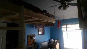 Loft Bed with chain