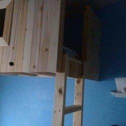 Loft Bed Fort