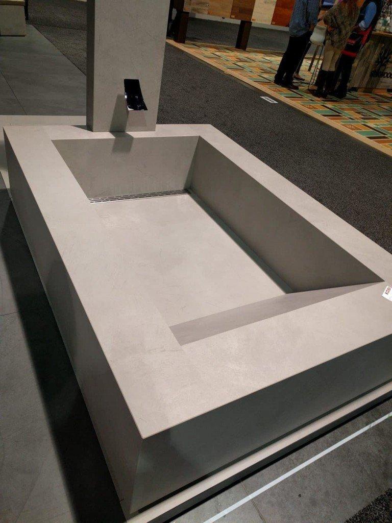 Custom Tile Bathtub