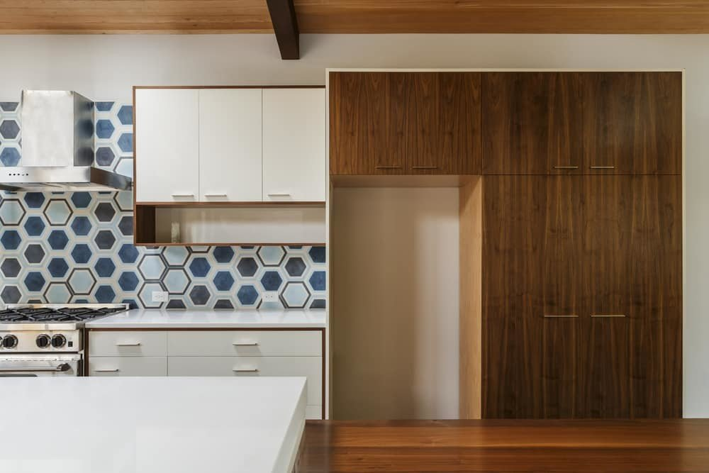 Mid-century modern color pattern remodeling tallahassee