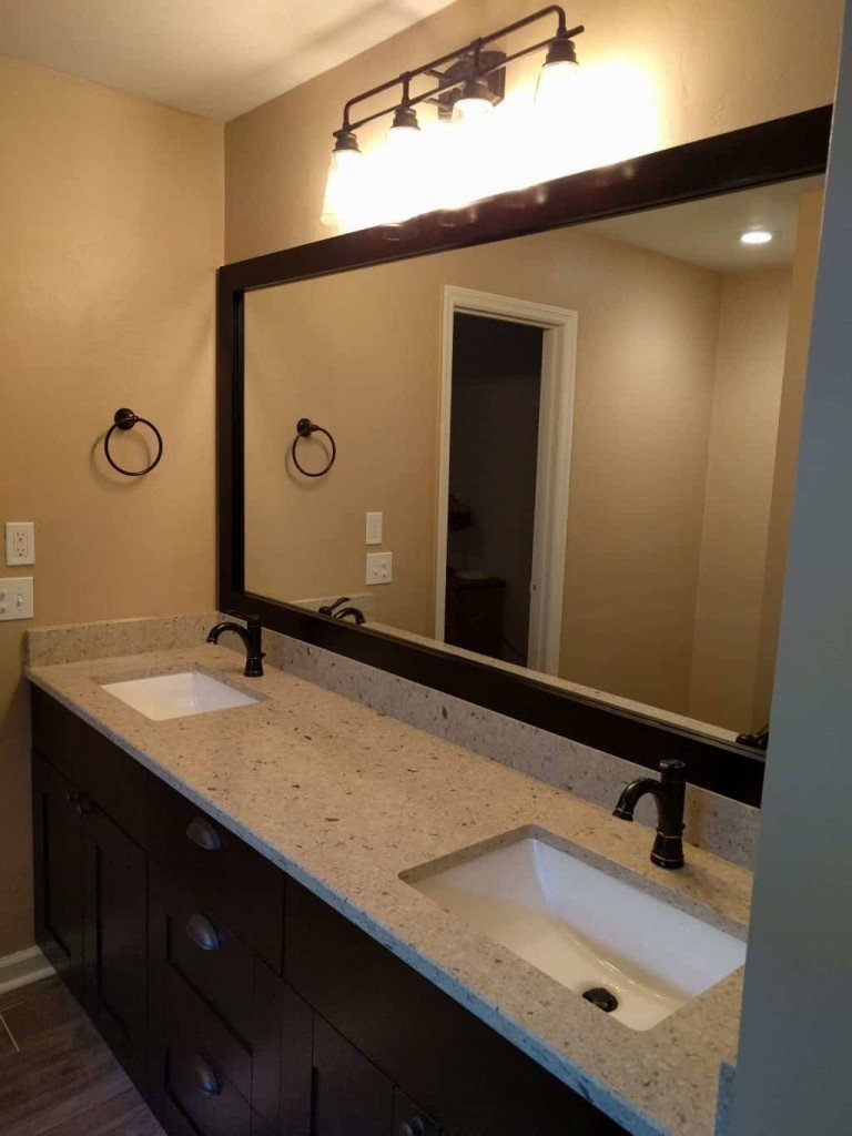 Bathroom Vanity Espresso - shaker style
