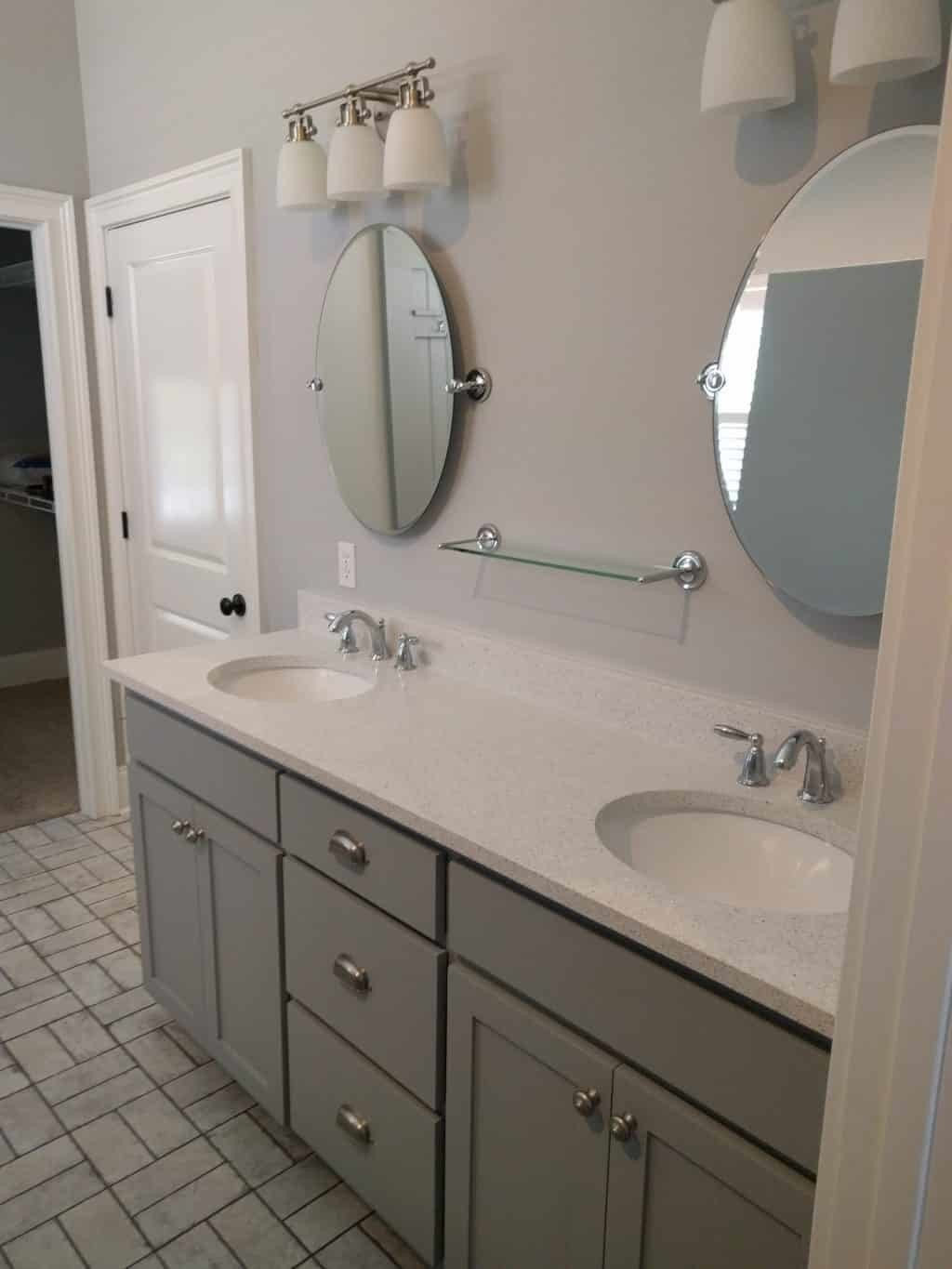 Creating a craftsman style bathroom in southwood tallahassee for Craftsman bathroom pictures