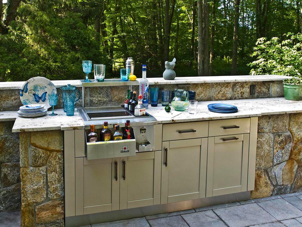 Outdoor Kitchen Storage