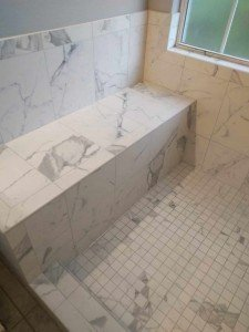 Marble Shower Bench2