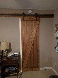 Barn Door Closed