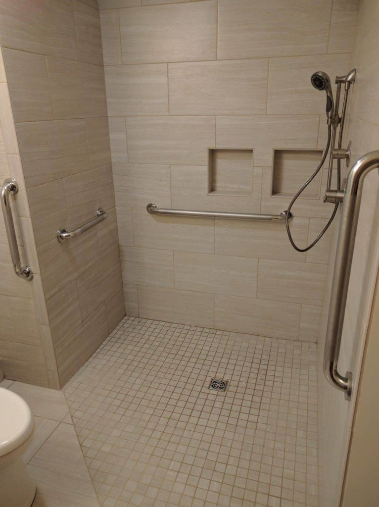 Aging in Place Shower