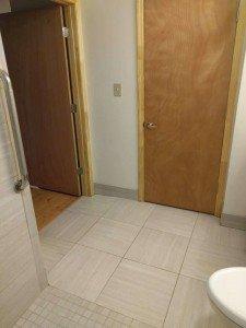 Extra door to bathroom