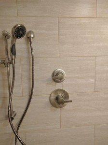 Delta Shower controls