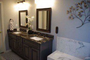 Bathroom Vanity Refacing