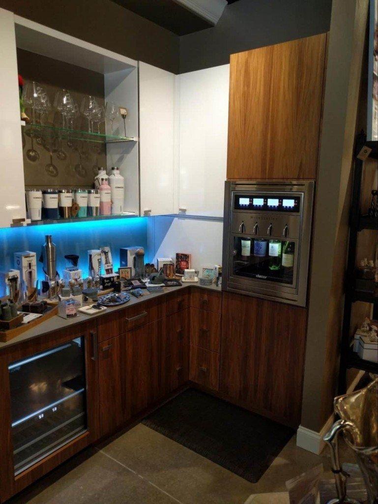 Wine Bar in the Kitchen