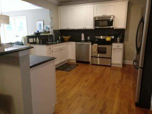 White Shaker Kitchen After