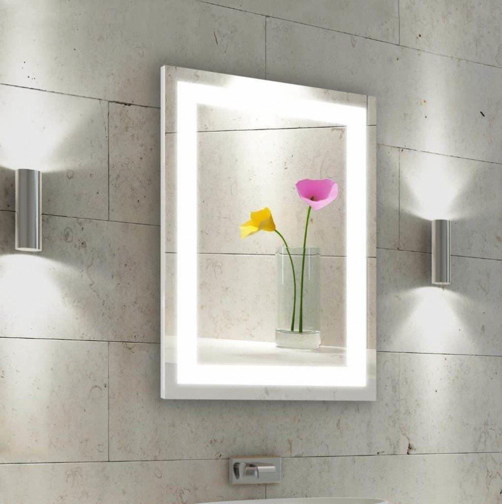 LED Mirror Bathroom Design Ideas