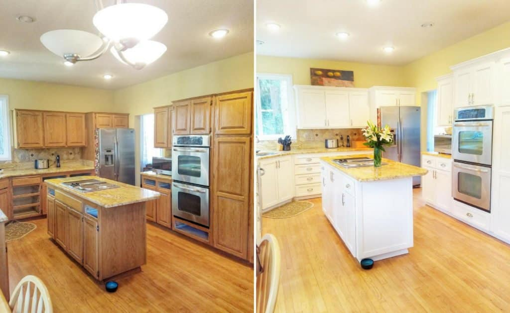 reface or replace kitchen cabinets tallahassee fl