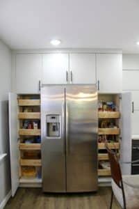 Kitchen remodeling pantry storage