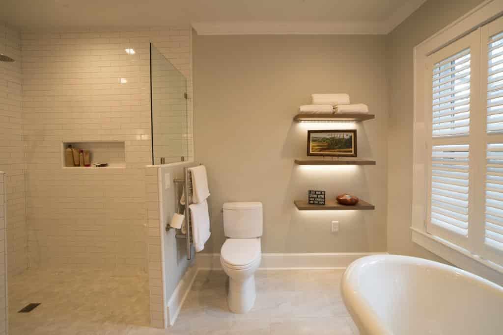 Master Bath Shower, Master Bath Remodeling McManus Kitchen and Bath