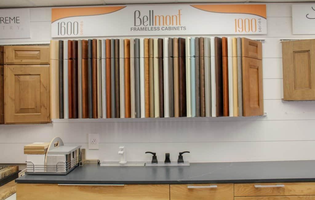 Bellmont Cabinetry Frameless Kitchen Cabinets