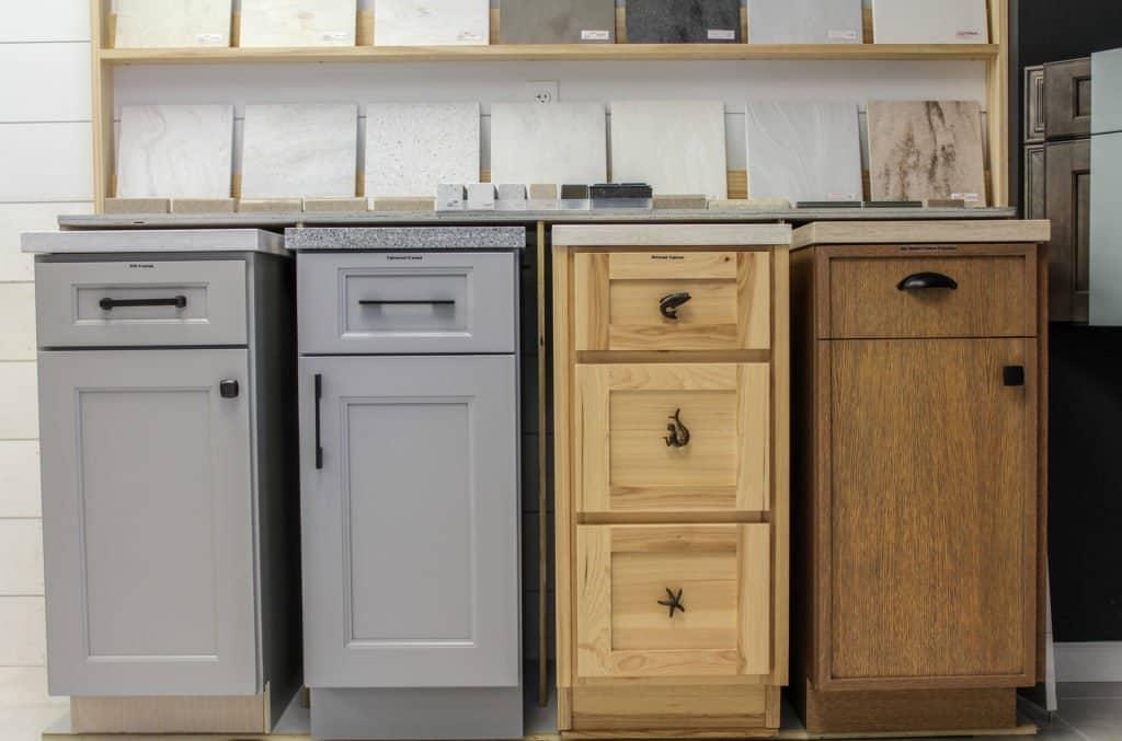Good Better Best Cabinet Display