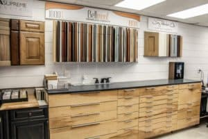 Bellmont Cabinetry Display