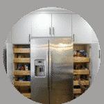Kitchen remodeling pantry organizers