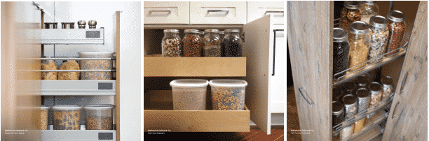 kitchen storage MCMANUS KITCHEN AND BATH KITCHEN REMODELING