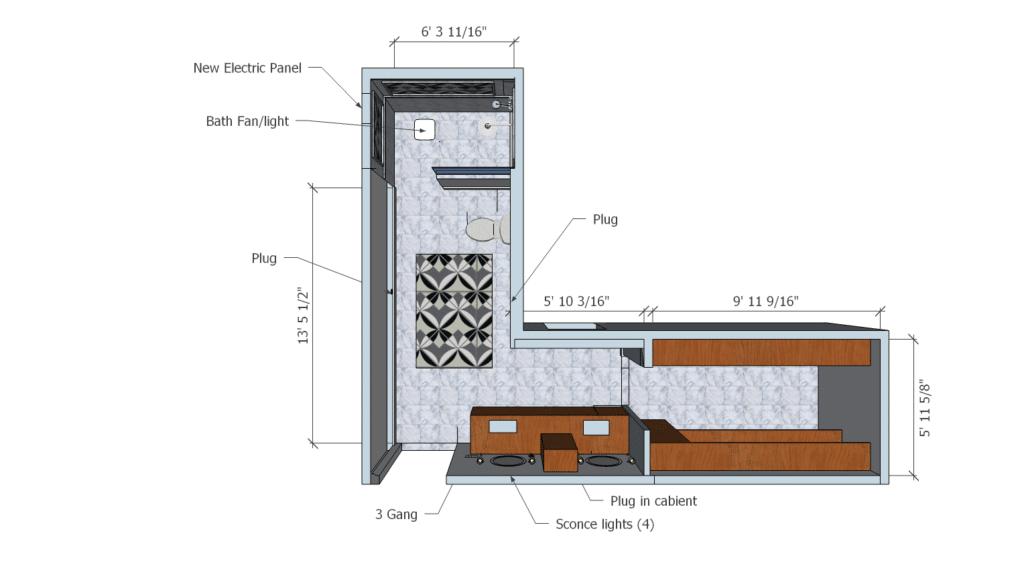 master suite remodel after floorplan
