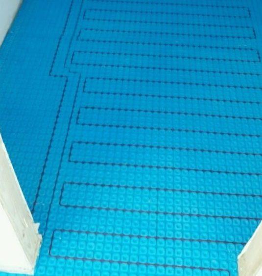 Underfloor heat mat
