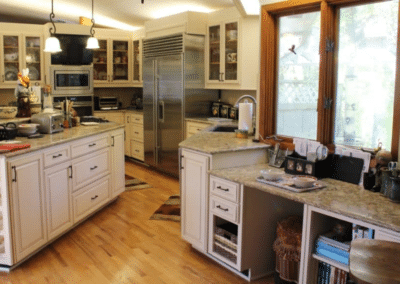 Betton Hills Large Kitchen Cabinet Reface – $34,000