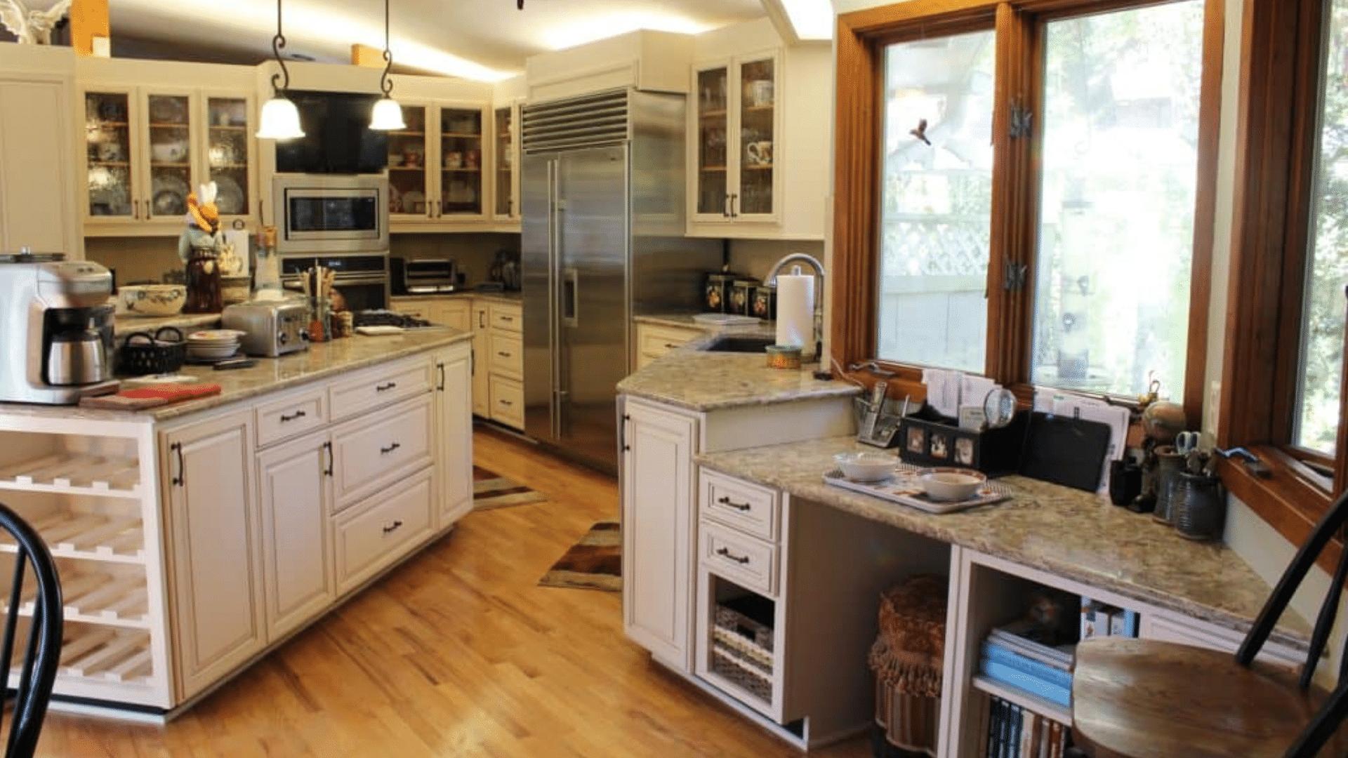 McManus Kitchen and Bath & Betton Hills Large Kitchen Cabinet Reface \u2013 $34000 | McManus ...