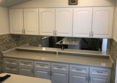 Mid Sized Kitchen Cabinet Reface in Betton Woods – $15,400