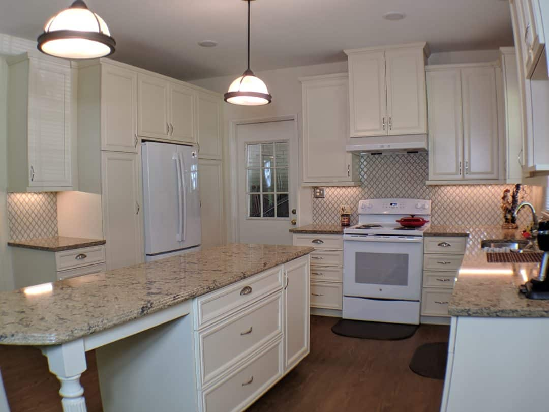 Adding an Island To An Older Kitchen in Harriman Park – $62,963.25